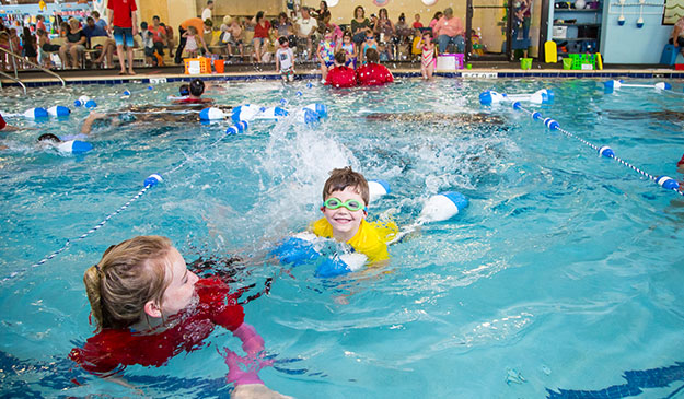 Jacksonville swimming lessons at swimming safari swim school - Pools on the park swimming lessons ...